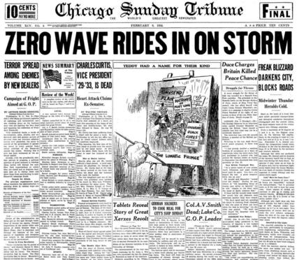Chicago Sunday Tribune Feb 9, 1936