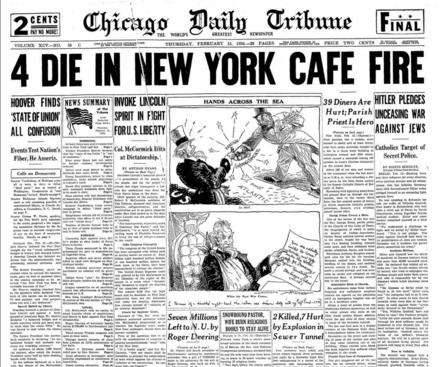 Chicago Daily Tribune Feb 13, 1936