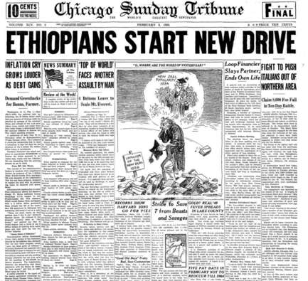 Chicago Sunday Tribune Feb 2, 1936
