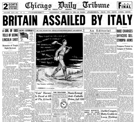 Chicago Daily Tribune Feb 12, 1936