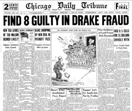 Chicago Daily Tribune Feb 1, 1936