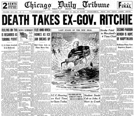 Chicago Daily Tribune  Feb 24, 1936