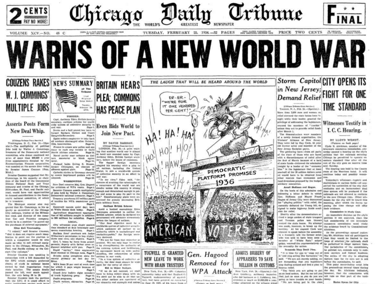 Chicago Daily Tribune Feb 25, 1936