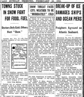Chicago Sunday Tribune Feb 16, 1936 pg 3
