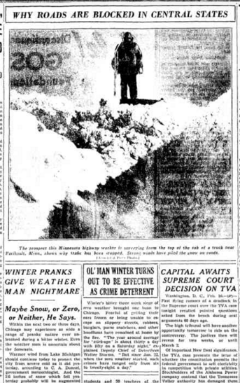Chicago Daily Tribune Feb 17, 1936 pg 3