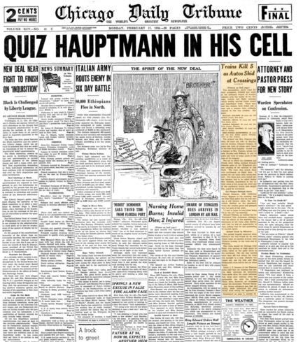 Chicago Daily Tribune Feb 17, 1936