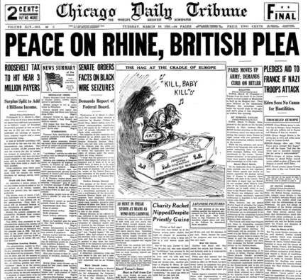 Chicago Daily Tribune March 10, 1936