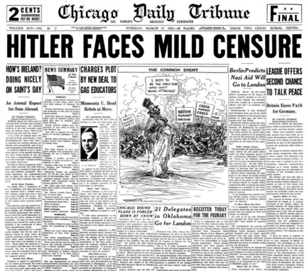 Chicago Daily Tribune March 17, 1936