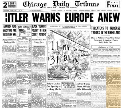 Chicago Daily Tribune March 13, 1936