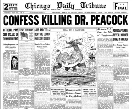 Chicago Daily Tribune March 28, 1936