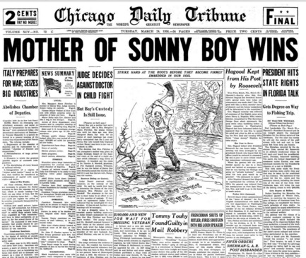 Chicago Daily Tribune March 24, 1936