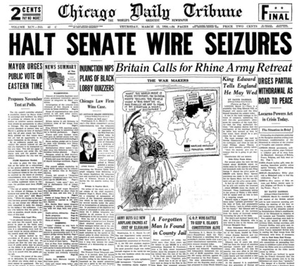 Chicago Daily Tribune March 12, 1936