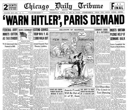 Chicago Daily Tribune March 11, 1936