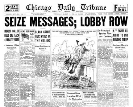 Chicago Daily Tribune March 6, 1936