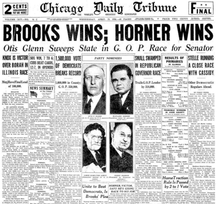 Chicago Daily Tribune April 15, 1936