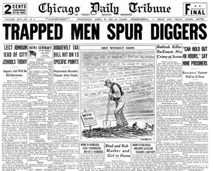 Chicago Daily Tribune April 22, 1936