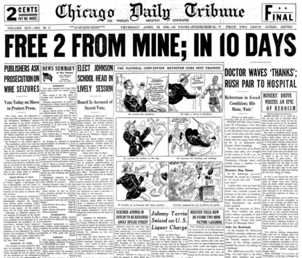 Chicago Daily Tribune April 23, 1936