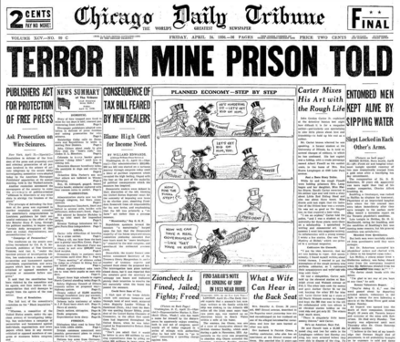 Chicago Daily Tribune April 24, 1936