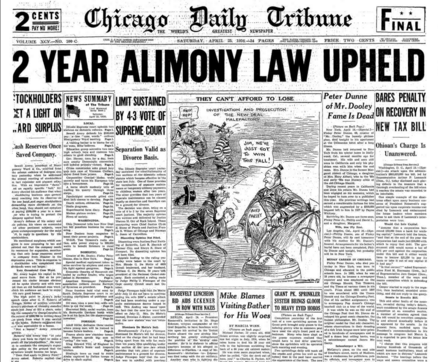 Chicago Daily Tribune April 25, 1936