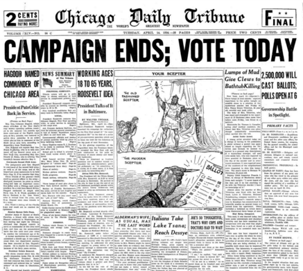 Chicago Daily Tribune April 14, 1936