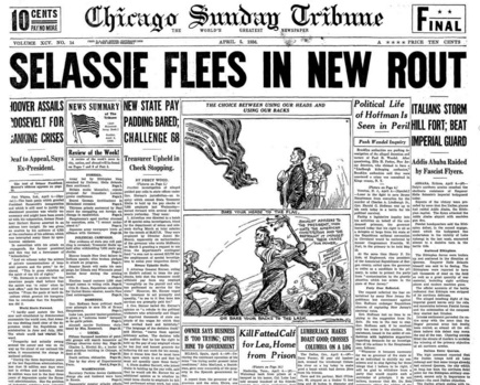 Chicago Daily Tribune April 5, 1936