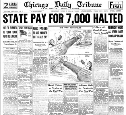 Chicago Daily Tribune April 2, 1936