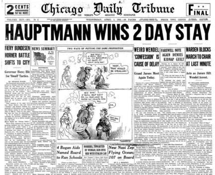 Chicago Daily Tribune April 1, 1936