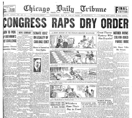 Chicago Daily Tribune May 26, 1936
