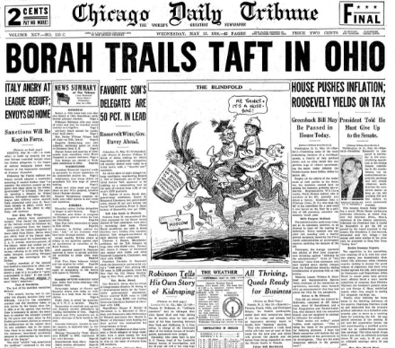 Chicago Daily Tribune May 13, 1936