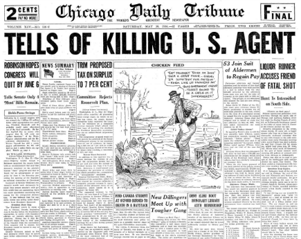 Chicago Daily Tribune May 16, 1936