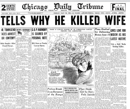 Chicago Daily Tribune May 22, 1936