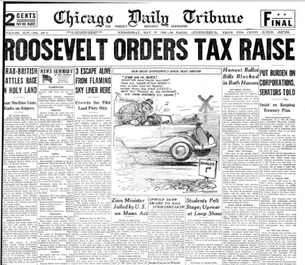 Chicago Daily Tribune May 27, 1936