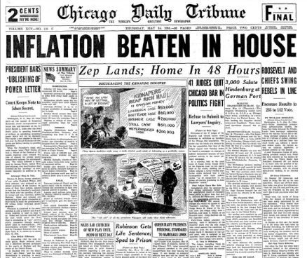 Chicago Daily Tribune May 14, 1936