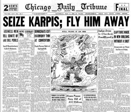 Chicago Daily Tribune May 2, 1936