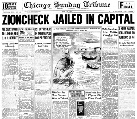 Chicago Sunday Tribune May 31, 1936