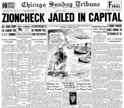 Chicago Sunday Tribune May 31, 1936