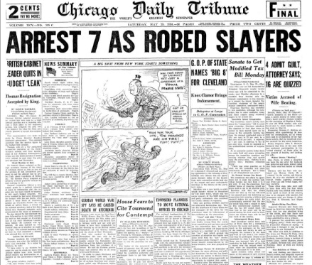 Chicago Daily Tribune May 23, 1936