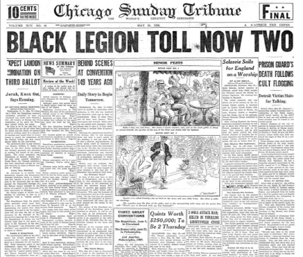 Chicago Sunday Tribune May 24, 1936
