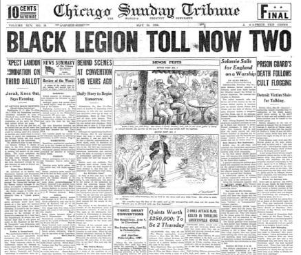 Chicago Sunday Tribune May 24, 1936