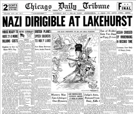 Chicago Daily Tribune May 9, 1936