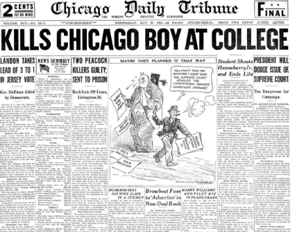 Chicago Daily Tribune May 20, 1936