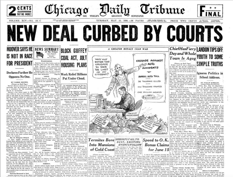 Chicago Daily Tribune, May 19, 1936
