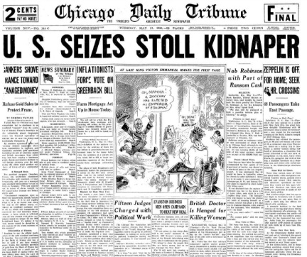 Chicago Daily Tribune May 12, 1936