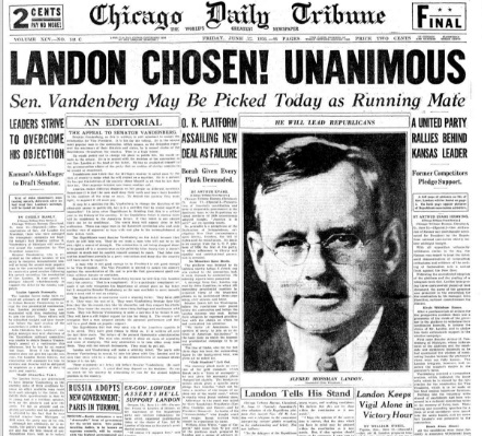 Chicago Daily Tribune June 12, 1936
