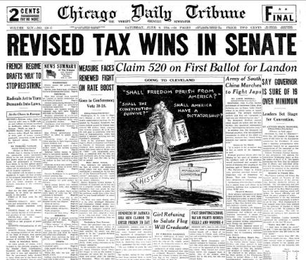 Chicago Daily Tribune June 6, 1936
