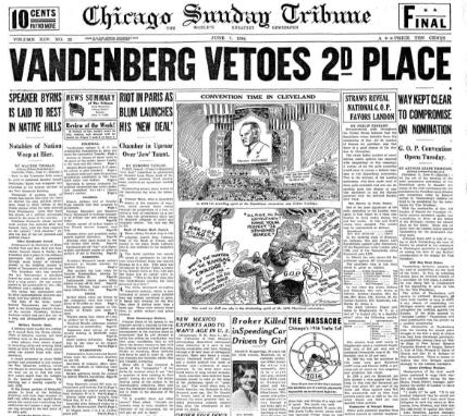 Chicago Daily Tribune June 7, 1936