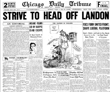 Chicago Daily Tribune June 8, 1936