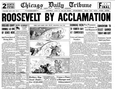 Chicago Daily Tribune June 27, 1936