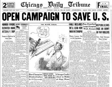 Chicago Daily Tribune June 29, 1936