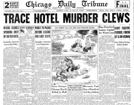 Chicago Daily Tribune June 30, 1936